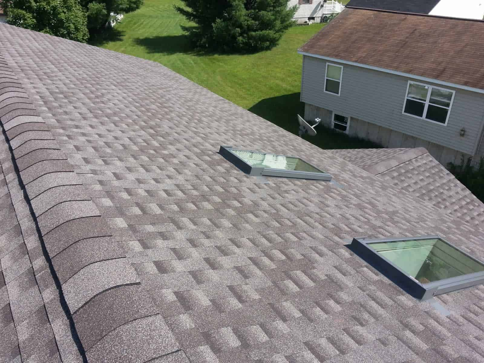 Gonzales Roofing Llc New Asphalt Roof With Skylights