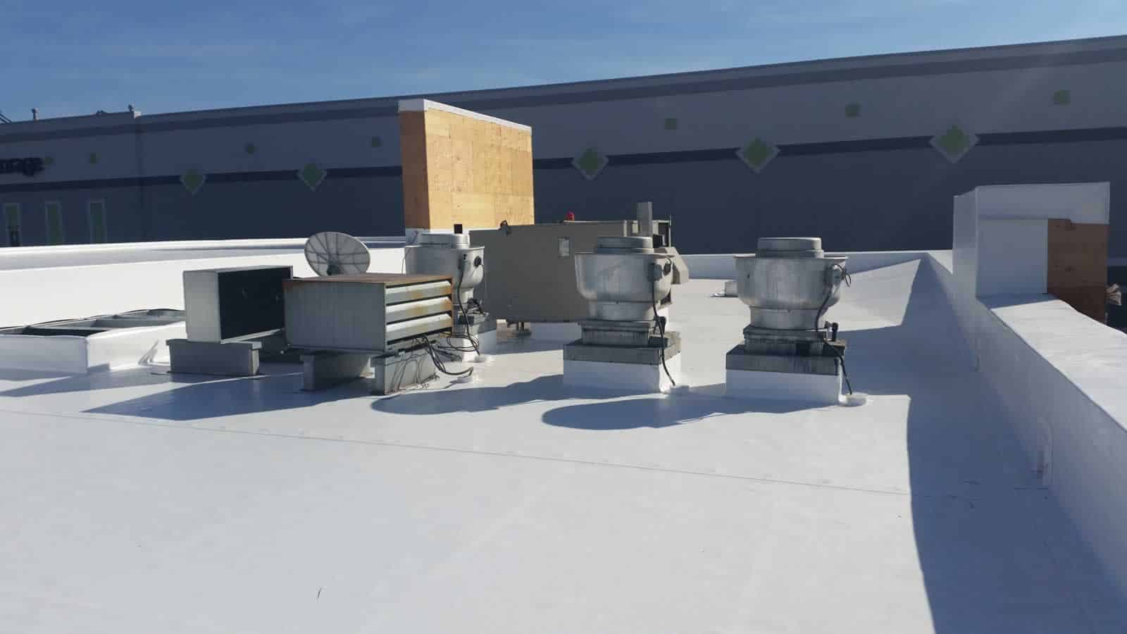 Flat Ib Pvc Roofs 20160416 165044 Gonzales Roofing