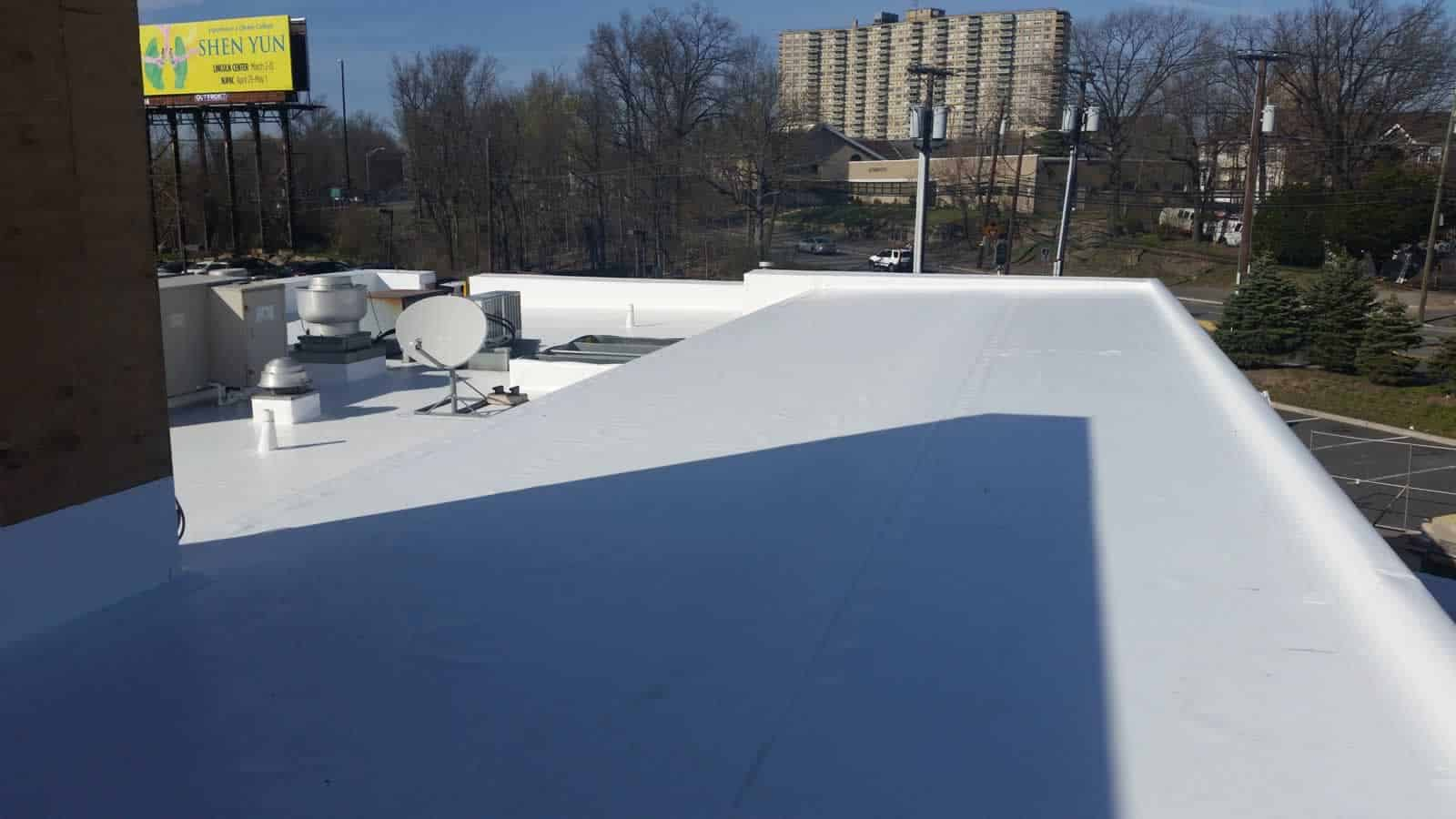 Pvc roofs pvc roofing is typically applied in sheets with the seams welded together and - Bitumen sheets pros and cons ...