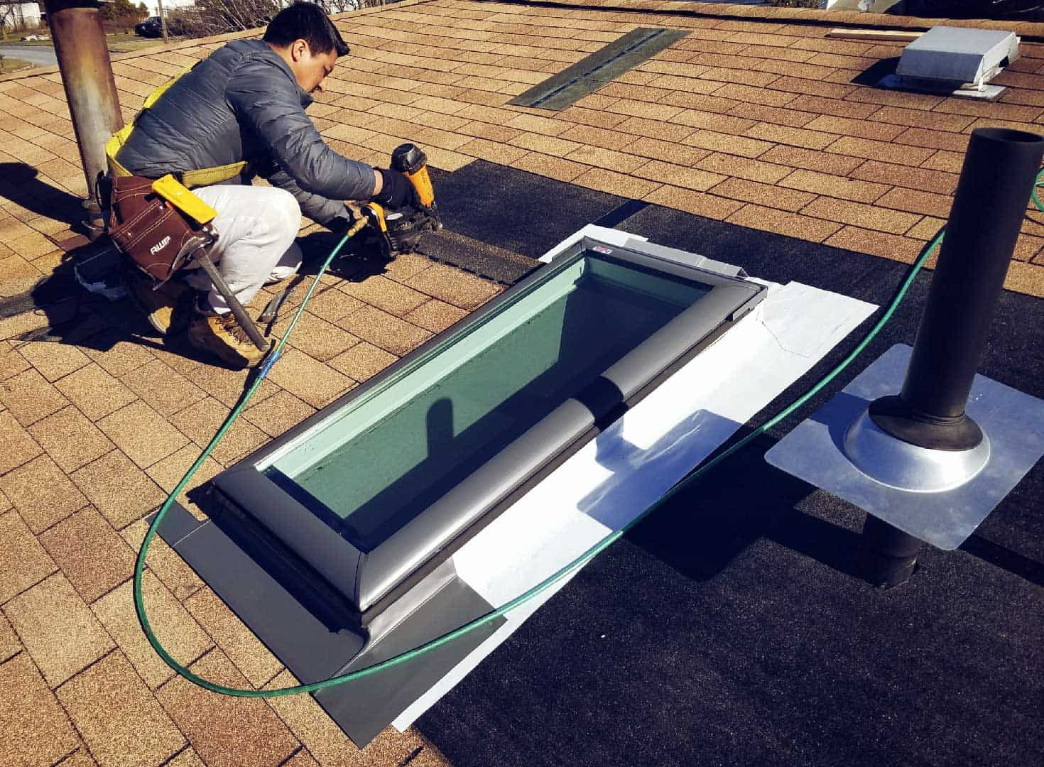 Gonzales Roofing Middletown Ny Roof Repair Skylight