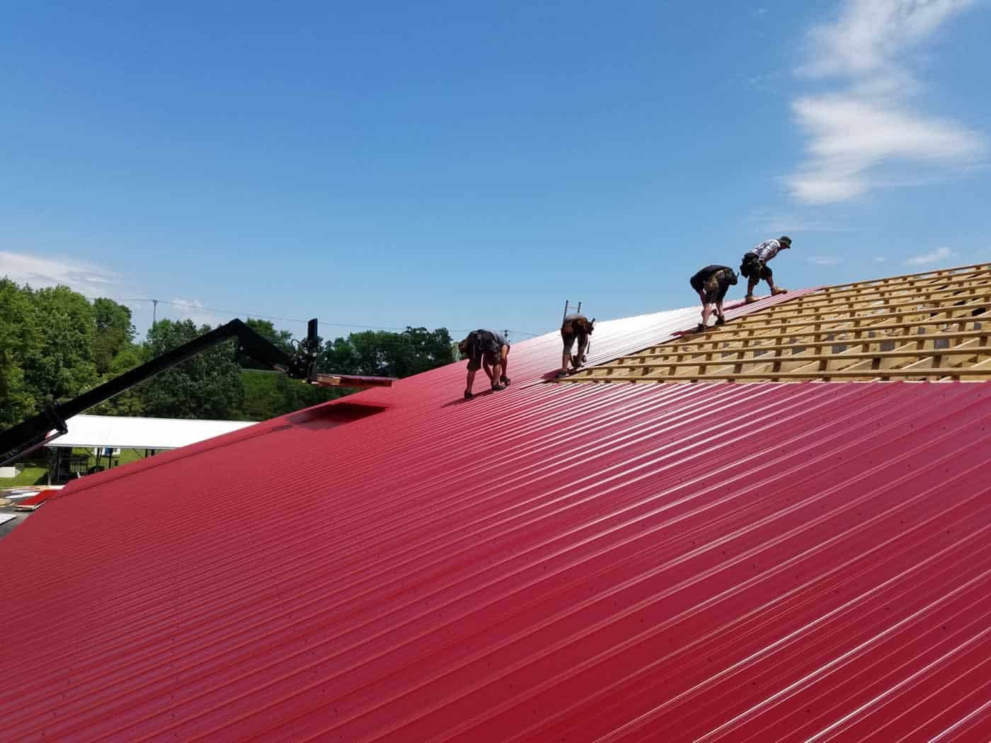 Gonzales Roofing Plattekill Firehouse Metal Roof 20160722